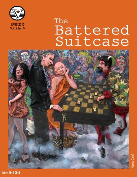 Battered Suitcase - Nancy Calef cover art